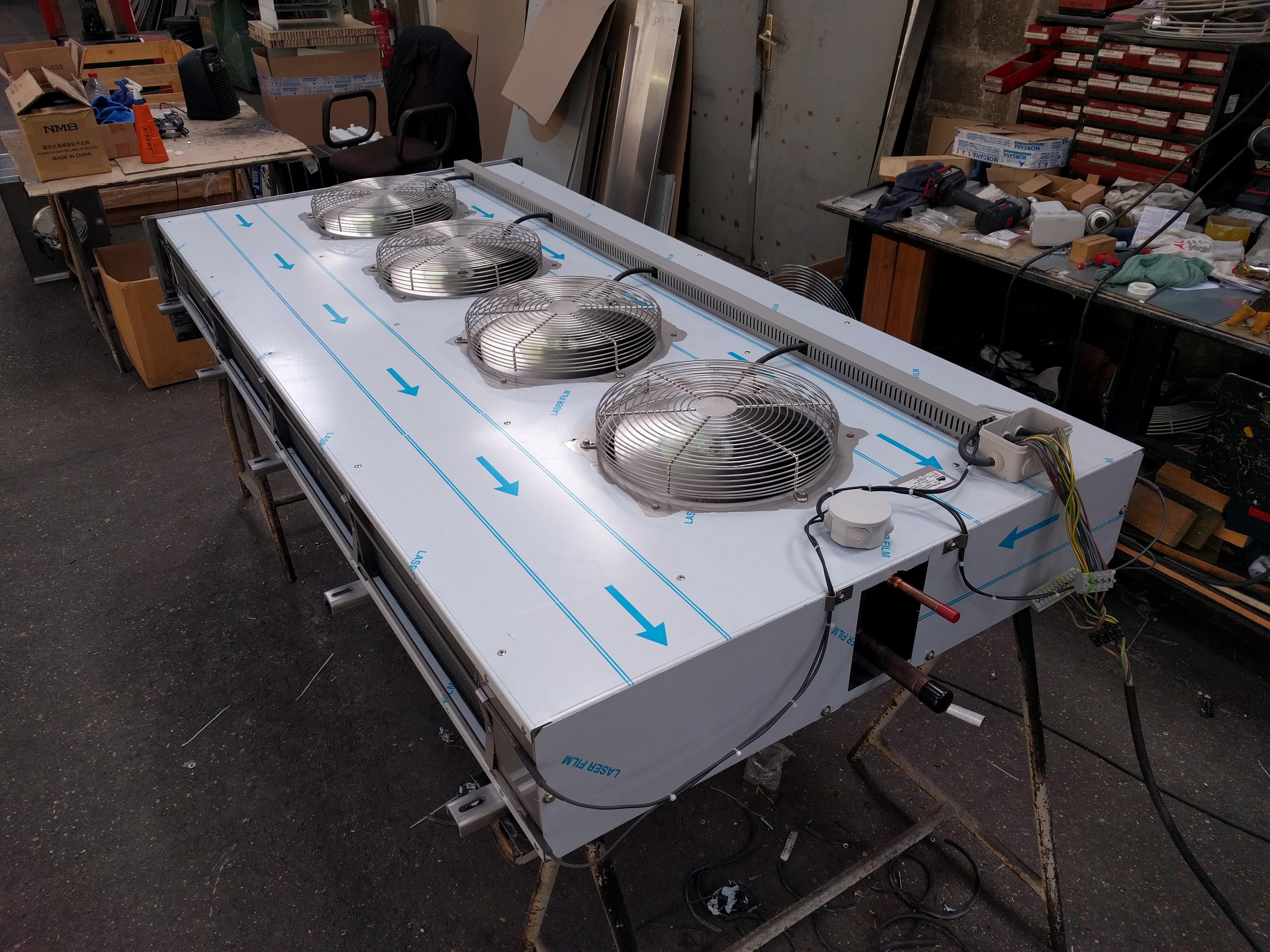 Batterie avec ventilation forcée compatible APEX 1 et 2